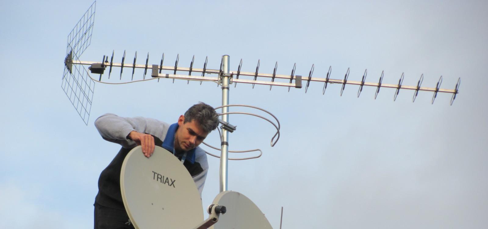 Montáže antén a satelitů